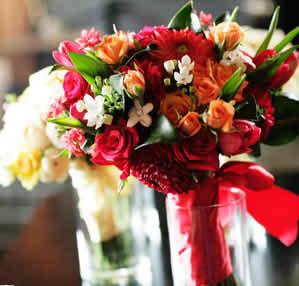 rustic wedding bouquet 2