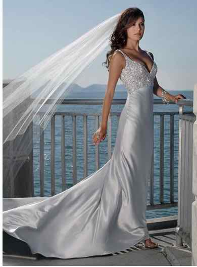 satin wedding dresses 3