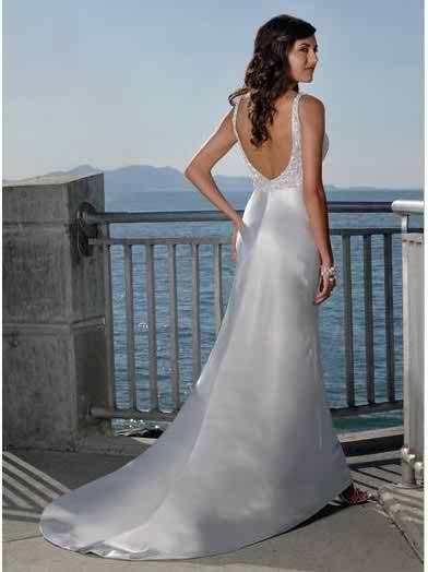 satin wedding dresses 4