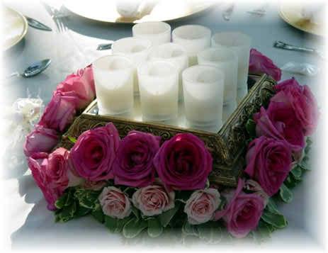 saving money for the flower arrangements