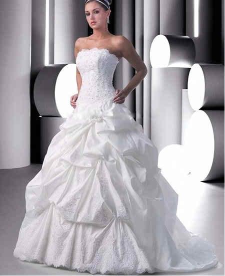 sleeveless wedding dresses 2 3