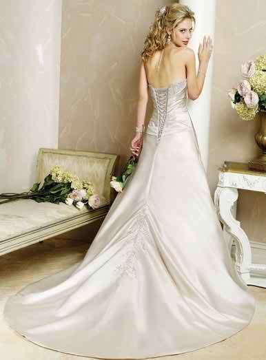 sleeveless wedding dresses 2