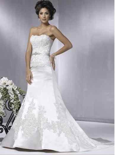 sleeveless wedding dresses 3