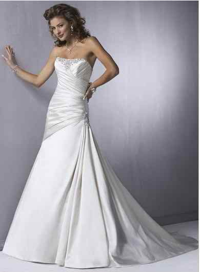 sleeveless wedding dresses 3
