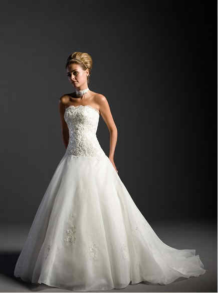 sleeveless wedding dresses 4 3