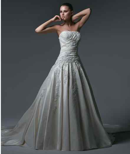 sleeveless wedding dresses 5