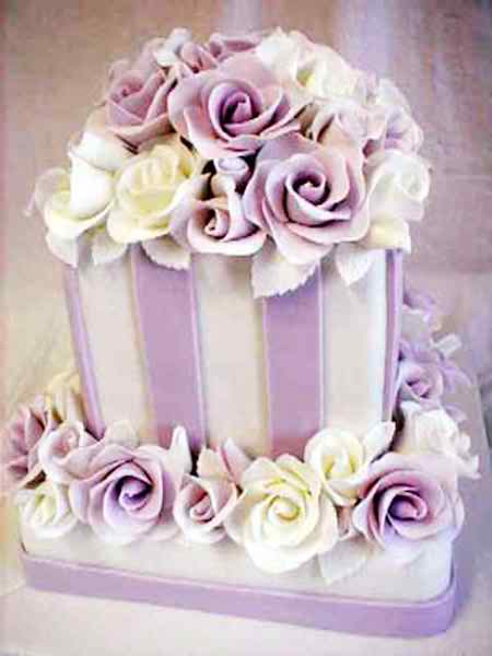 square wedding cakes 3