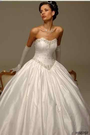 strapless wedding dresses3