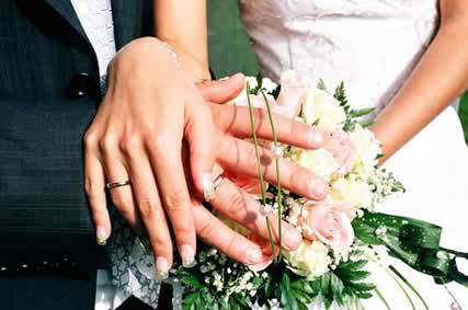 stress in organizing the wedding