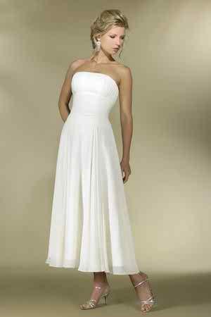tea length wedding dresses 2 3