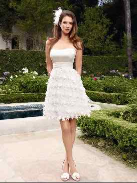 tea length wedding dresses 2 4