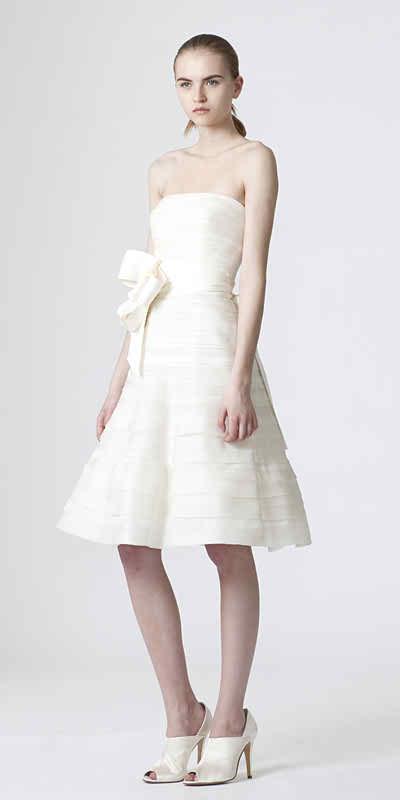 tea length wedding dresses 2