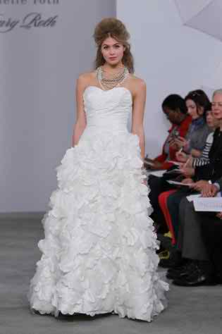 The 2012 fall wedding dress collection by Michelle Roth