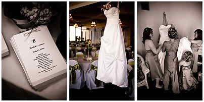 the bride and the wedding album