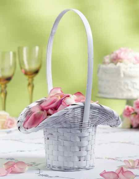 the flower girl's basket
