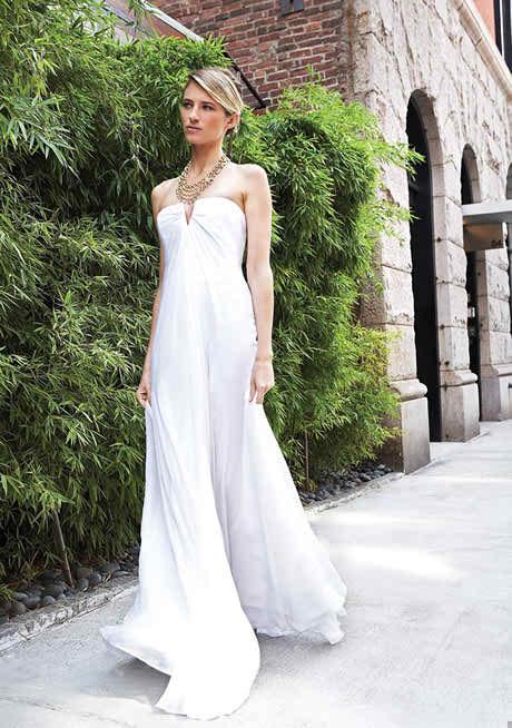 the modern wedding dresses