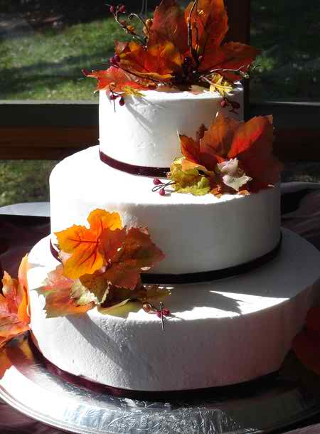 ideas for fall wedding cakes the right model of wedding cake 4 topweddingsites 16290
