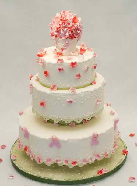 the right model of wedding cake 4 3