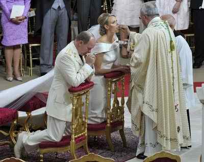 the royal wedding of the Prince of Monaco