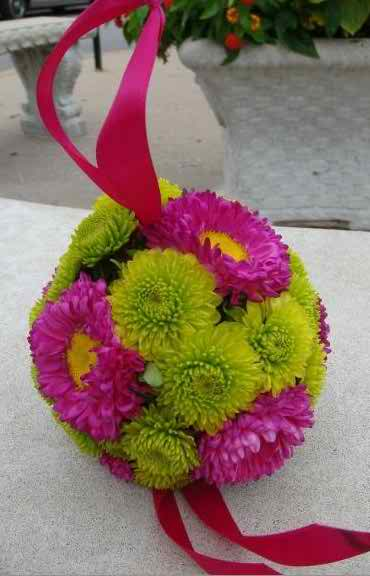 the spherical bouquet 33