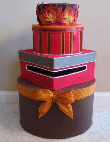 the wedding post or gift box