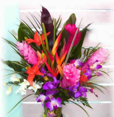 tropical wedding flowers 4
