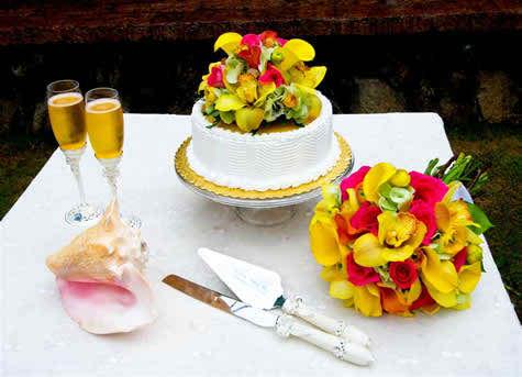 tropical wedding flowers 5