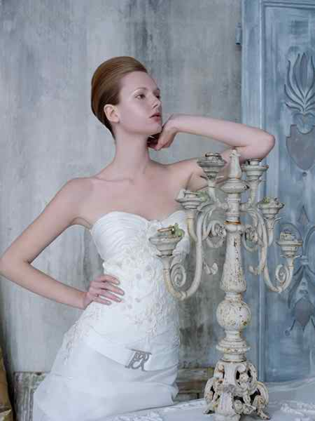two pieces wedding dresses 2