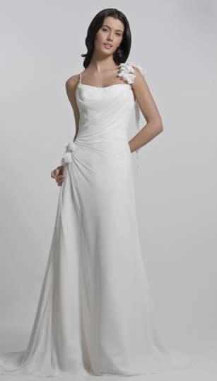 Type of neckline for wedding dress