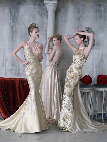 unusual wedding dress models 2