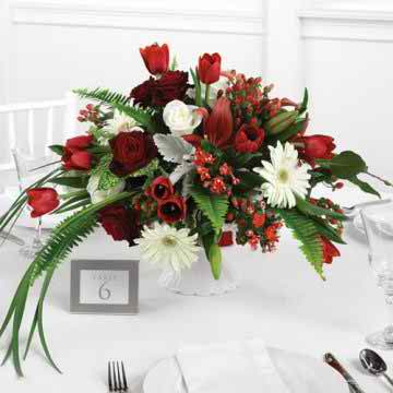 various ideas for wedding flowers