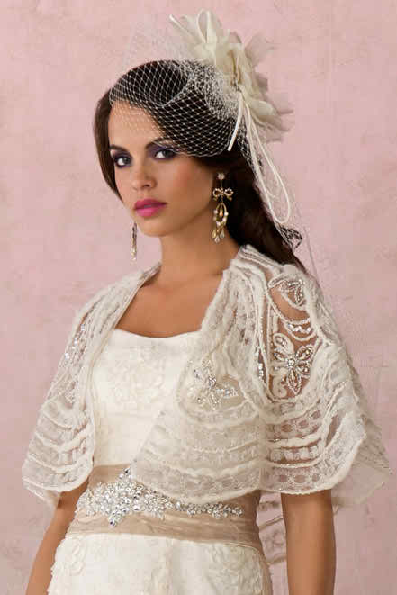 wedding accessories - bridal jackets