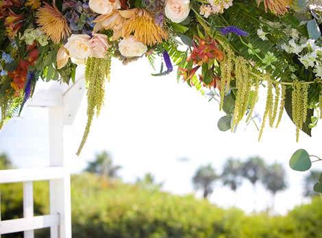 wedding decor tips for open air weddings