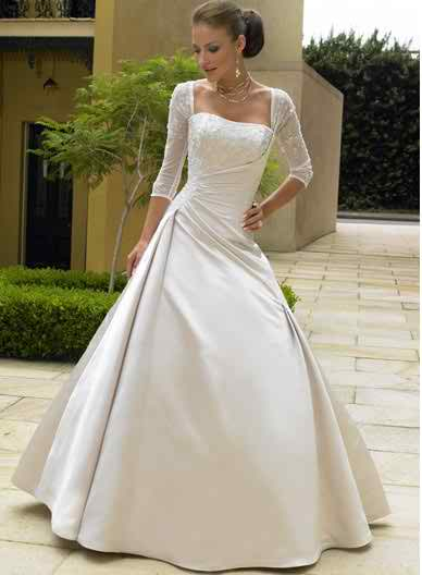 wedding dresses with sleeves 4