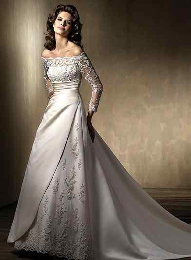 wedding dresses with sleeves2