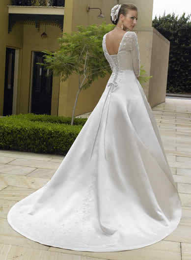 wedding dresses with sleeves3