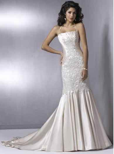 wedding dresses with straps 2 3