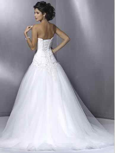 wedding dresses with straps 2