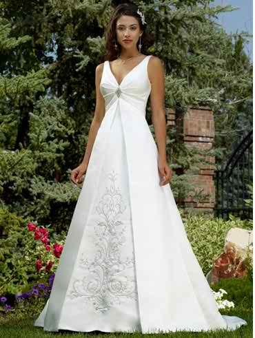 wedding dresses with straps 3