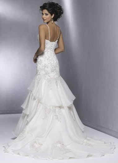 wedding dresses with straps 4