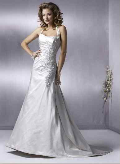 wedding dresses with straps 5