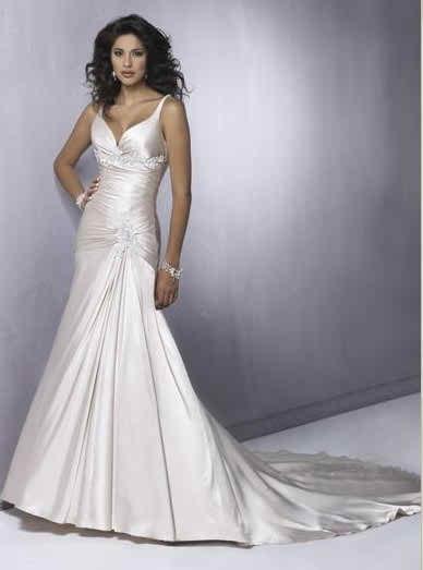 wedding dresses with straps