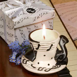 wedding favors with musical theme 3