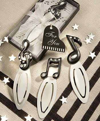 Wedding Favors With Musical Theme Topweddingsites