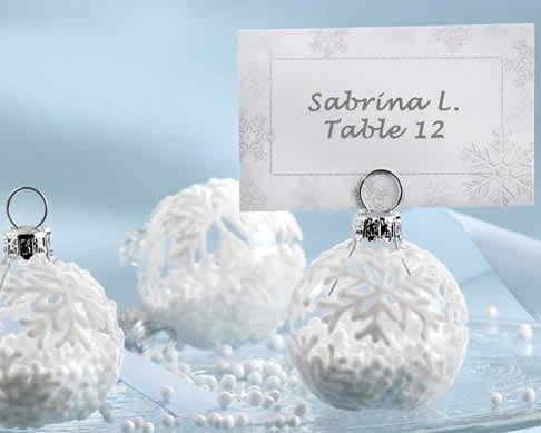 wedding favors with season theme