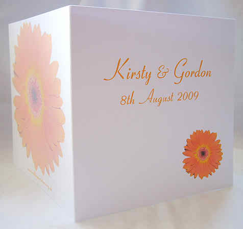 wedding invitations inspired by the reception choice