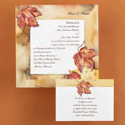 wedding invitations with wedding themes