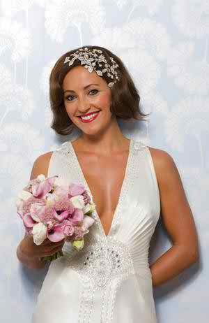 wedding make-up with a touch of Hollywood