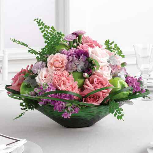 wedding reception flowers 23