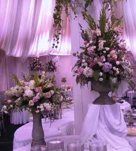 wedding reception flowers 24